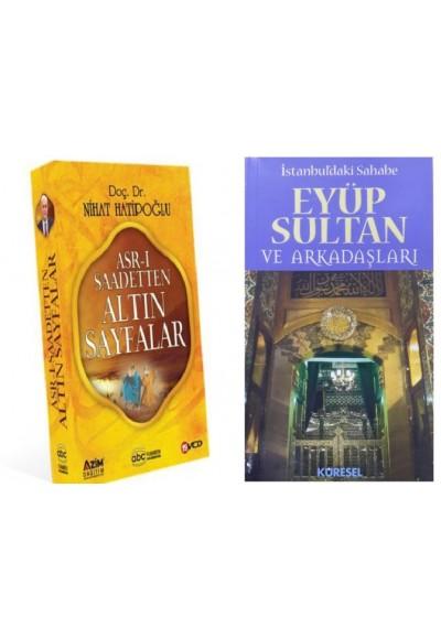 Nihat Hatipoğlu 19 Vcd Set Asr ı Saadetten Altın Sayfalar Eyüp Sultan ve Arkadaşları Kitabı Hediye