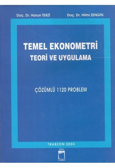 Temel Ekonometri Teori ve Uygulama
