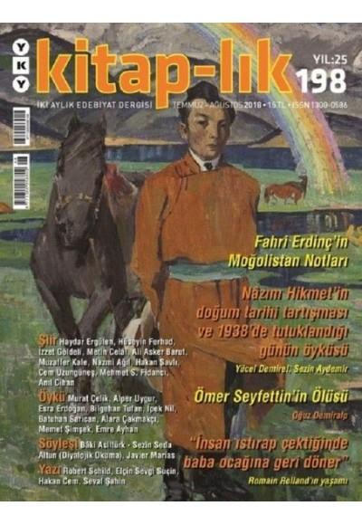 Kitap lık Sayı 198 İki Aylık Edebiyat Dergisi