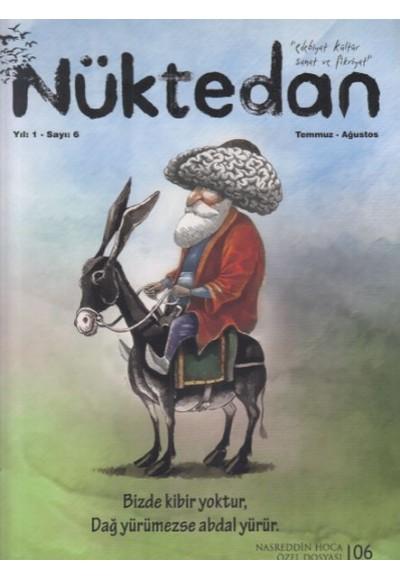 Nüktedan Dergisi Sayı 6 Temmuz Ağustos