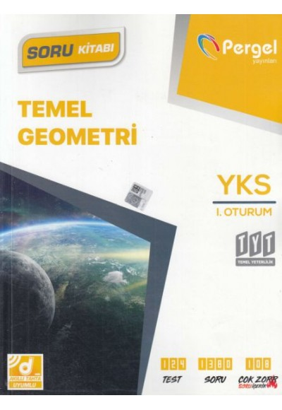 Pergel TYT Temel Geometri Soru Kitabı Yeni