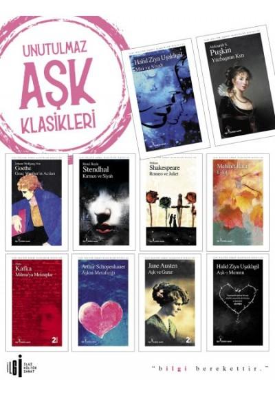 Unutulmaz Aşk Klasikleri Seti 10 Kitap Takım