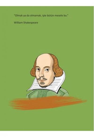 William Shakespeare Ciltli Defter