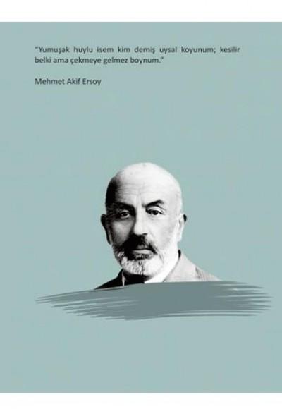 Mehmet Akif Ersoy Ciltli Defter
