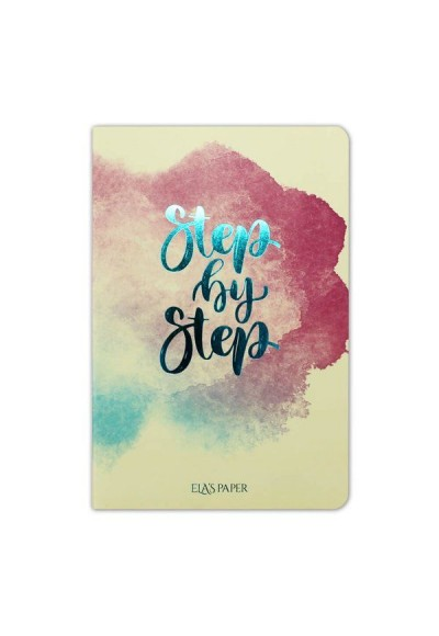 Watercolor Step By Step Defter
