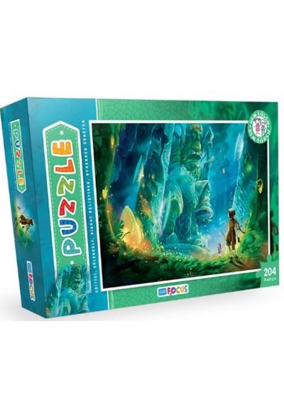Blue Focus BF085 Kutulu Puzzle 204 Parça