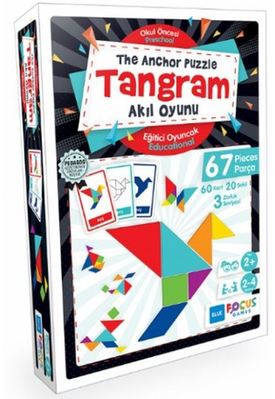 Blue Focus Tangram, Akıl Oyunu The Anchor Puzzle