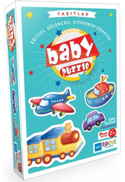 Blue Focus Taşıtlar - Baby Puzzle