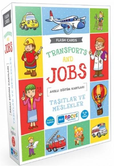 Blue Focus Taşıtlar ve Meslekler - Akıllı Eğitim Kartları