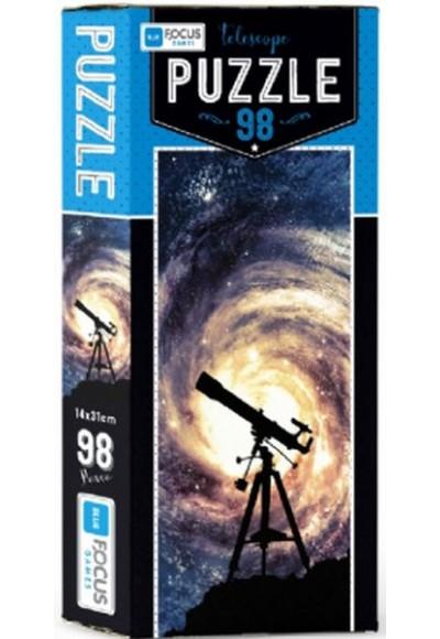 Blue Focus Telescope - Puzzle 98 Parça