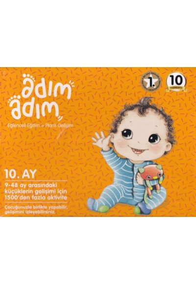 10. Ay Adım Adım Bebek Eğitim Seti