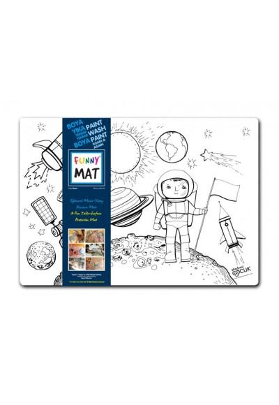 Funny Mat Uzay 33,5x48cm