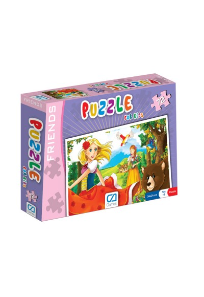 Puzzle For Kids 72 Frıends CA.5036