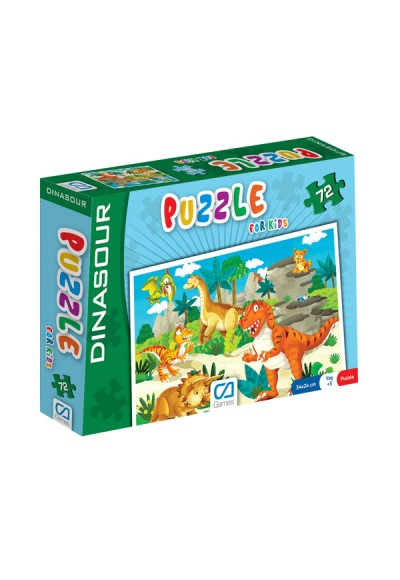 Puzzle For Kids 72 Dınasour CA.5037