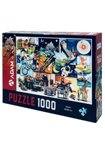 Yaşam 1000 Parça Puzzle