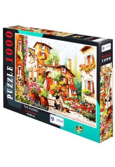 Yaz Günleri 1000 Parça Puzzle 48x68 cm