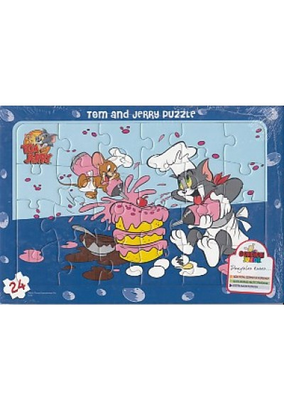 Tom and Jerry Puzzle 24 Parça