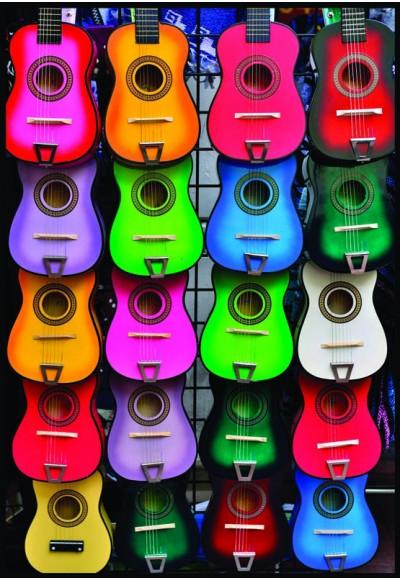 Müziğin Renkleri Puzzle 500 3579