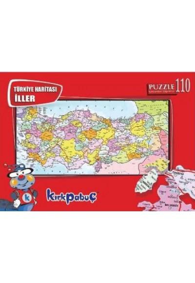 Türkiye Haritası İller 6112