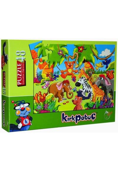 Orman Hayvanları 1 Puzzle 48 6302