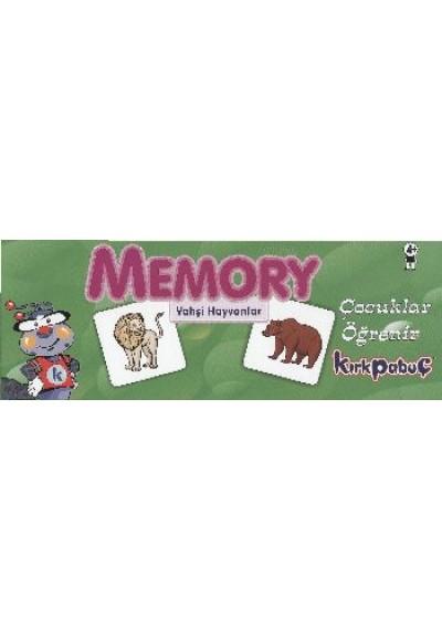 Memory Vahşi Hayvanlar Puzzle 54 7203