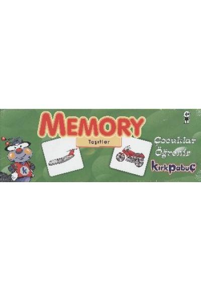 Memory Taşıtlar Puzzle 54 7204