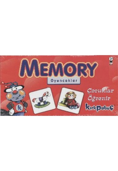 Memory Oyuncaklar Puzzle 24 7207
