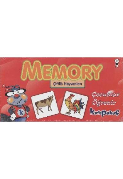 Memory Çiftlik Hayvanları Puzzle 24 7208