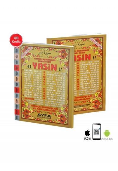 41 Yasin 2 Renk Fihristli Türkçe Okunuşları ve Açıklamaları Orta Boy Üçlü