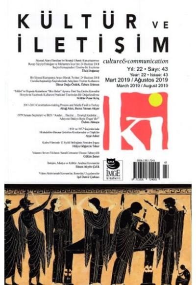 Kültür ve İletişim Dergisi Sayı 42
