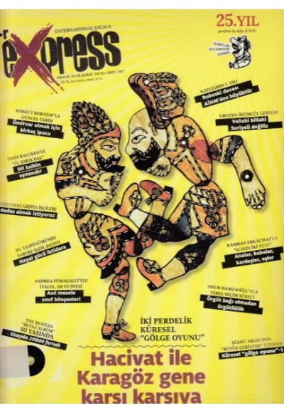 Express Dergisi Sayı 167