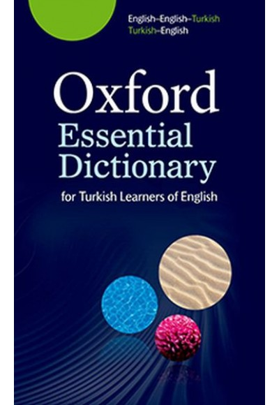Oxford Essential Dictionary For Turkish Learners Of English