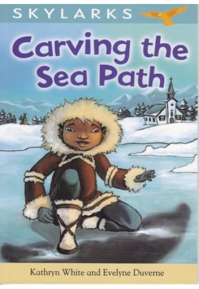 Skylarks Carving The Sea Path