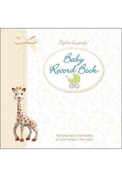 Sophie la girafe Baby Record Book For Precious Memories of Your Baby's First Year