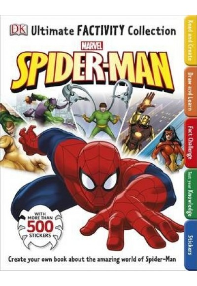 Marvel Spider Man Ultimate Factivity Collection