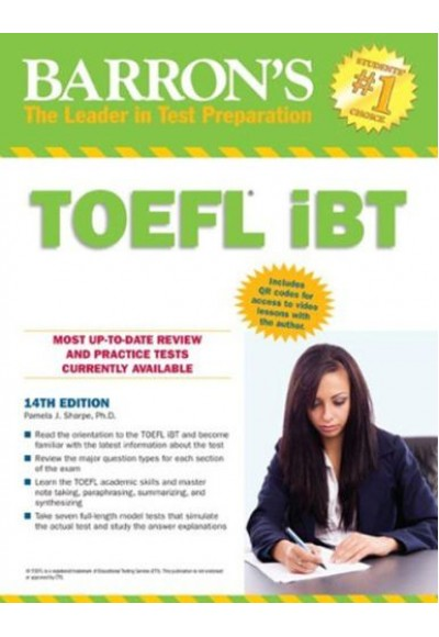 Barrons TOEFL İBT 14th Edition