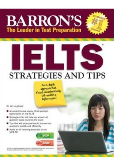 Barrons IELTS Strategies and Tips (Book+Audio)