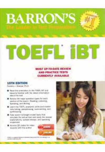 Barron's TOEFL IBT with MP3 audio CD 15th Edition