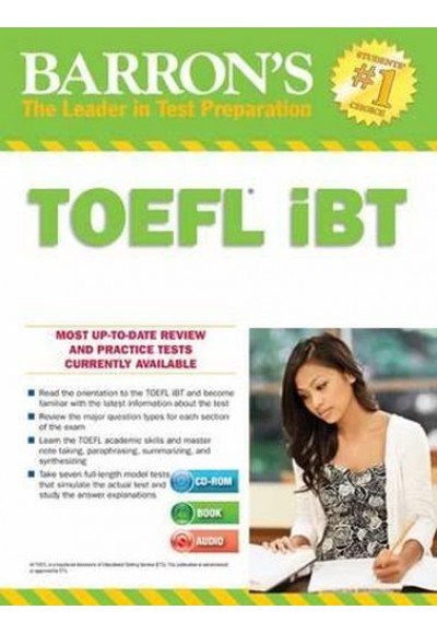 Barron's TOEFL IBT With Cd Rom and Mp3 Audio CDs, 15th Edition