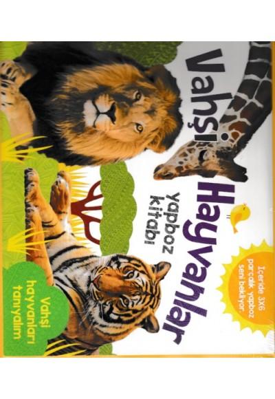 Vahşi Hayvanlar Yapboz Kitabı