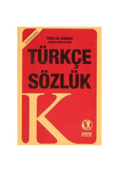 Türkçe Sözlük (Yeni Basım)