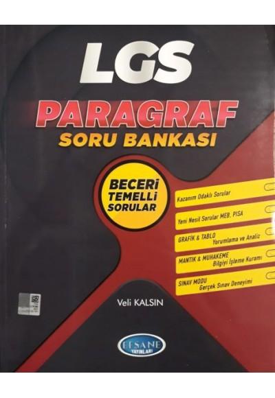 Efsane Yayınları LGS Paragraf Soru Bankası Yeni