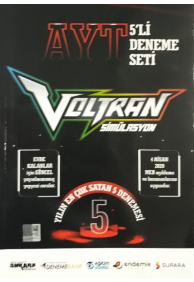 Ankara AYT Voltran 5'li Deneme Yeni