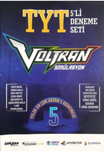 Ankara Yayıncılık TYT Voltran 5'li Deneme Seti Yeni