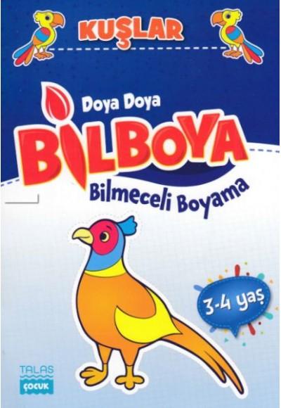 Doya Doya Bil Boya Bilmeceli Boyama Kuşlar 3 4 Yaş