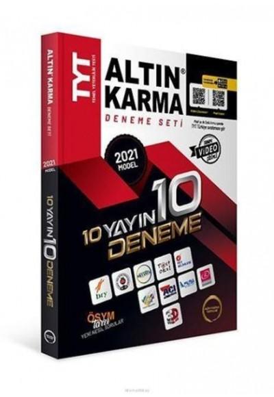 Altın Karma 2021 TYT 10 Farklı Yayın 10 Farklı Deneme (Yeni)