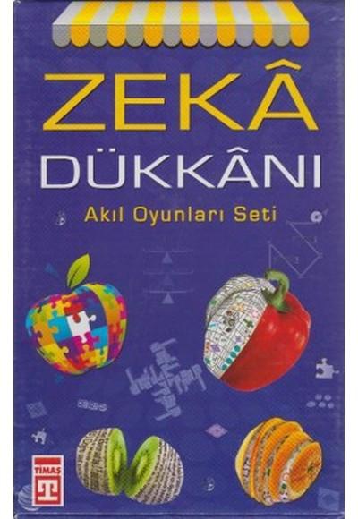 Zeka Dükkanı Akıl Oyunları Seti 4 Kitap Takım, Kutulu