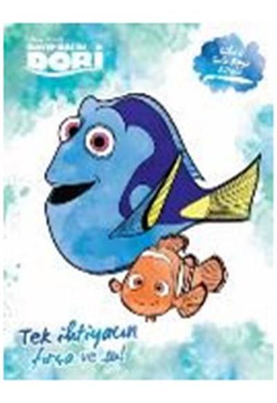 Disney Kayıp Balık Dori - Sihirli Sulu Boya Kitabı