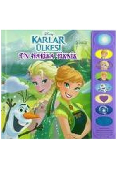 Disney Karlar Ülkesi En Harika Piknik 8 Düğmeli Sesli Kitap