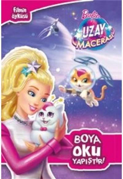 Barbie Uzay Macerası Boya Oku Yapıştır